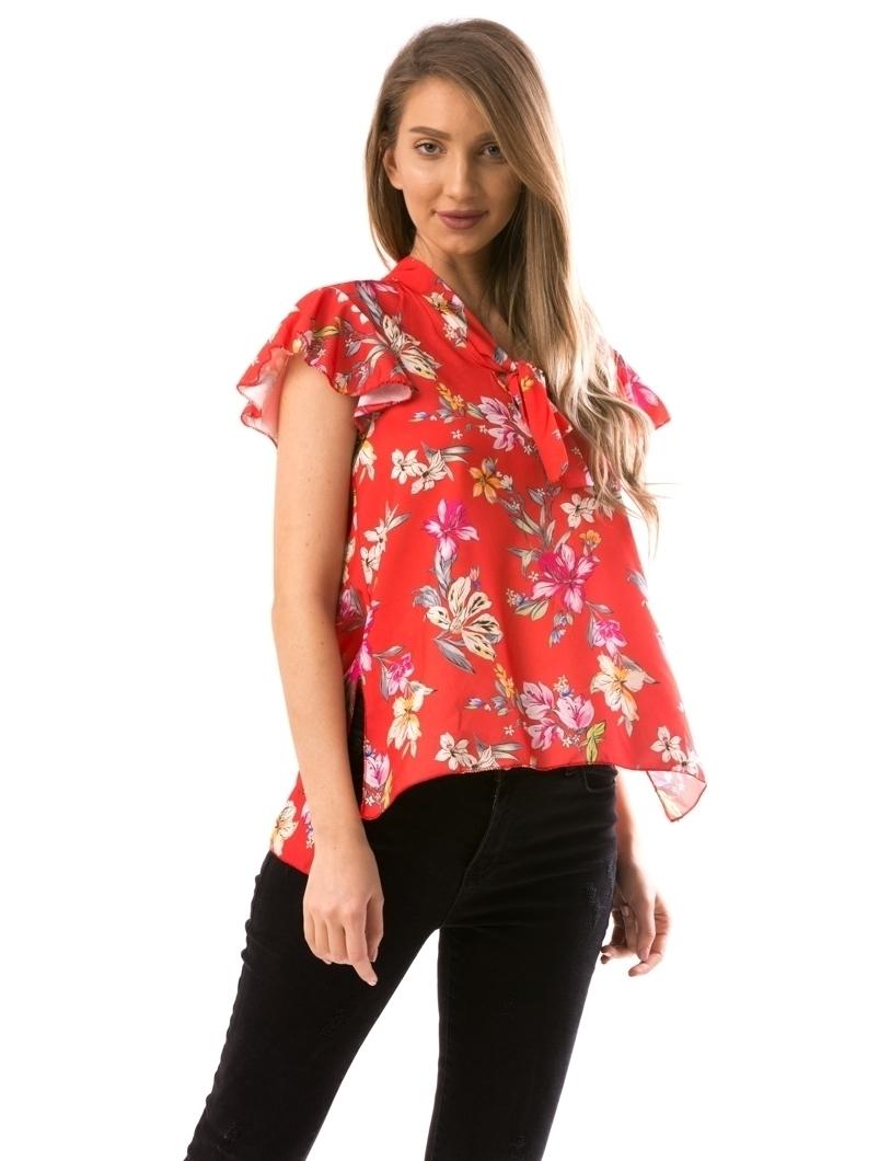 Bluza Dama Twel2 Rosu | angrozenda.ro