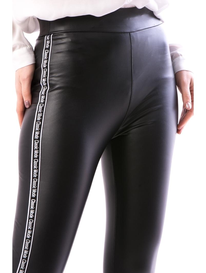 Pantaloni Dama Blaniti Pe Interior FryTry12 Negru | angrozenda.ro