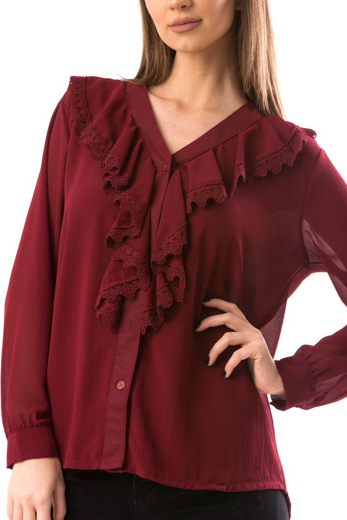 Bluza Dama Mile8 Grena-2