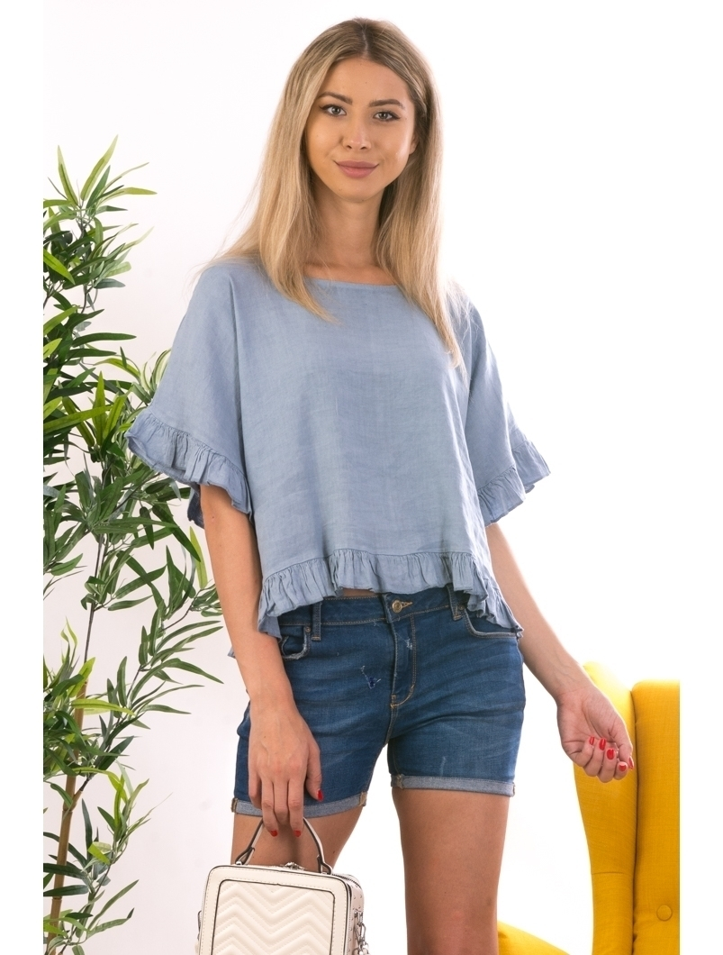 Bluza Dama Panza Lexxa Bleu
