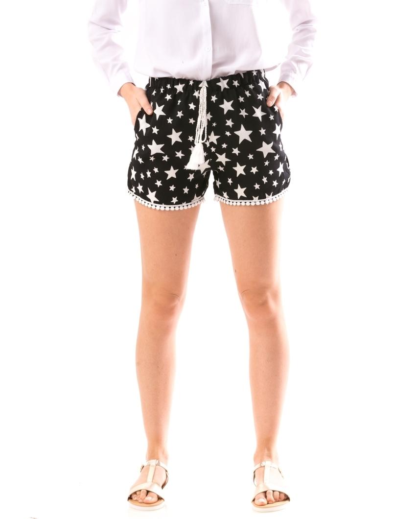 produs fierbinte preț uimitor stil de viață nou Pantaloni Scurti Dama LaceWearOne Negru