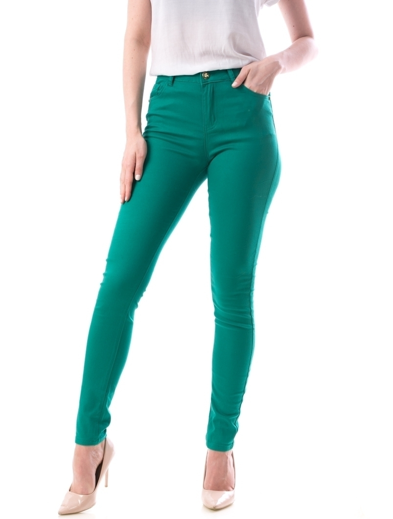 Jeans Dama Nikky Verde