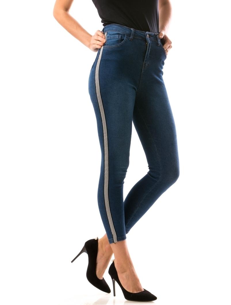 Jeans Dama VipHug Bleumarin | angrozenda.ro