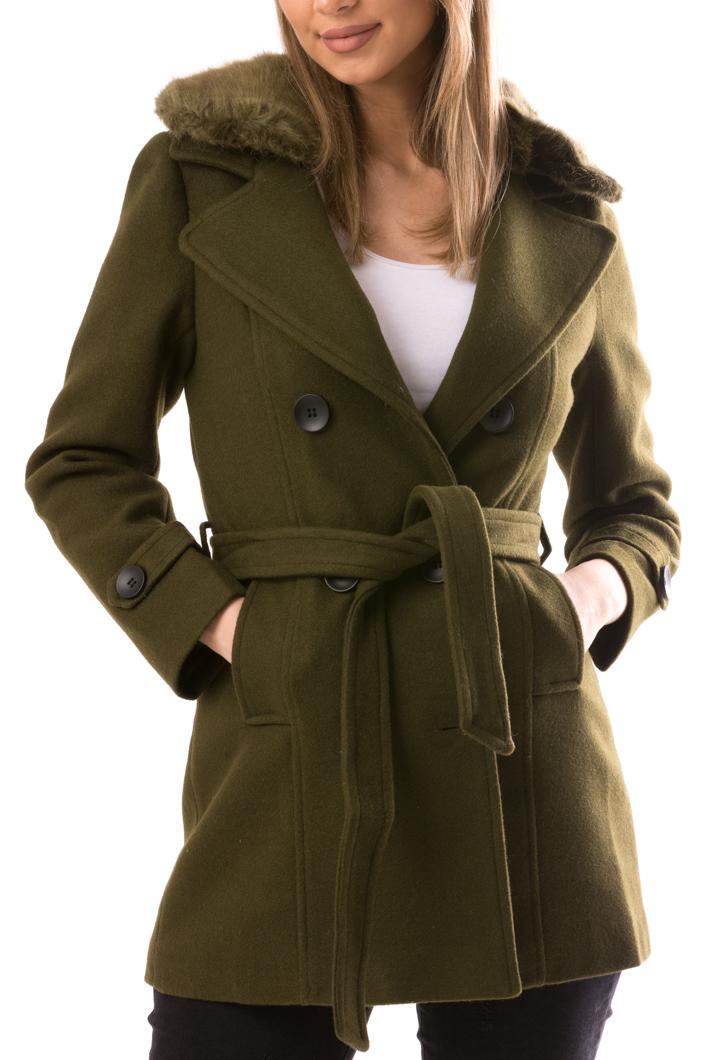 Palton Dama NiceToHave12 Kaki-2
