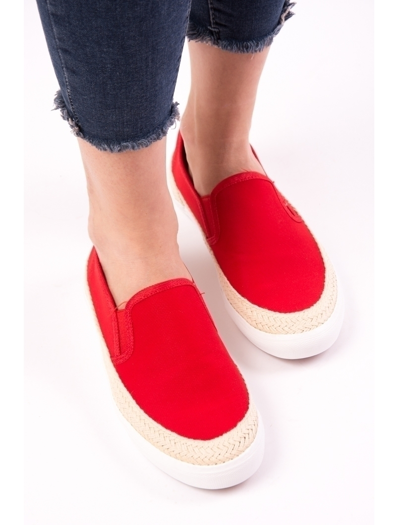 Espadrile Dama One Another Rosii | zenda.ro