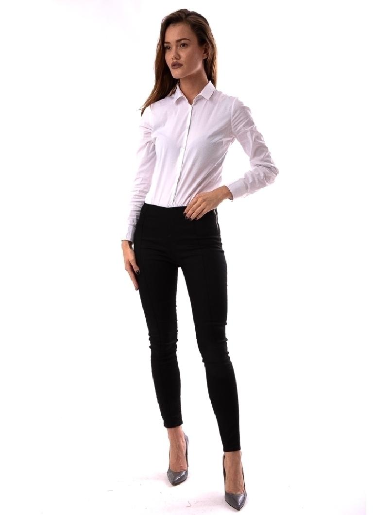 Pantalon Dama CasualFit Negru | angrozenda.ro