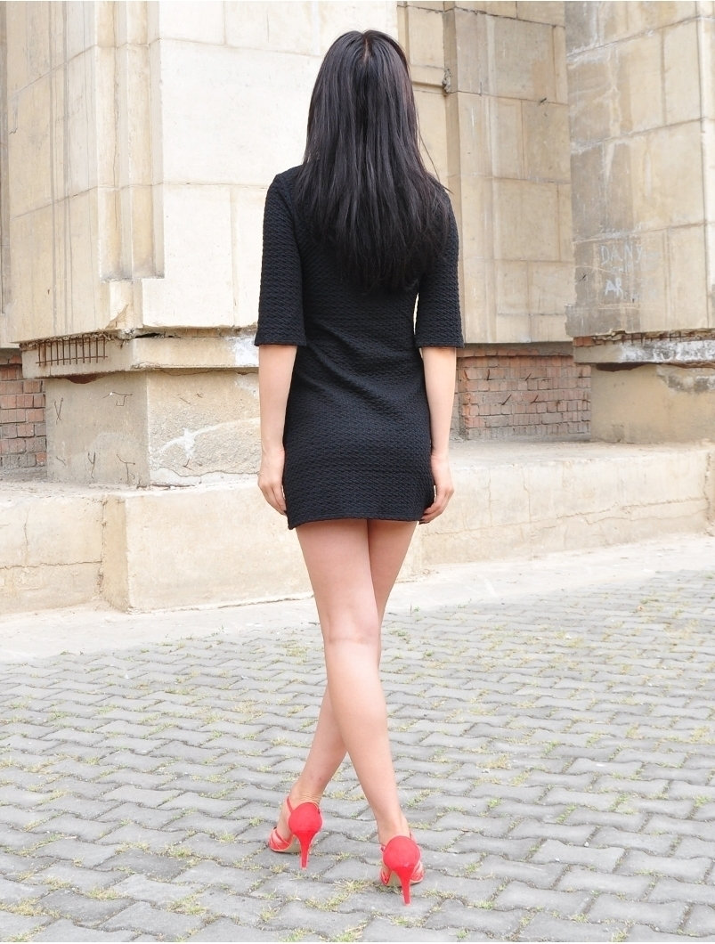 Rochie Dama This Way Black | zenda.ro