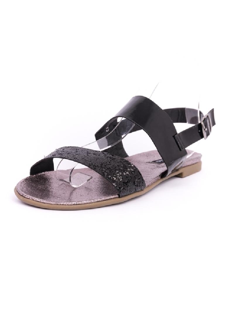 Sandale Dama ShinyDay Negre | angrozenda.ro