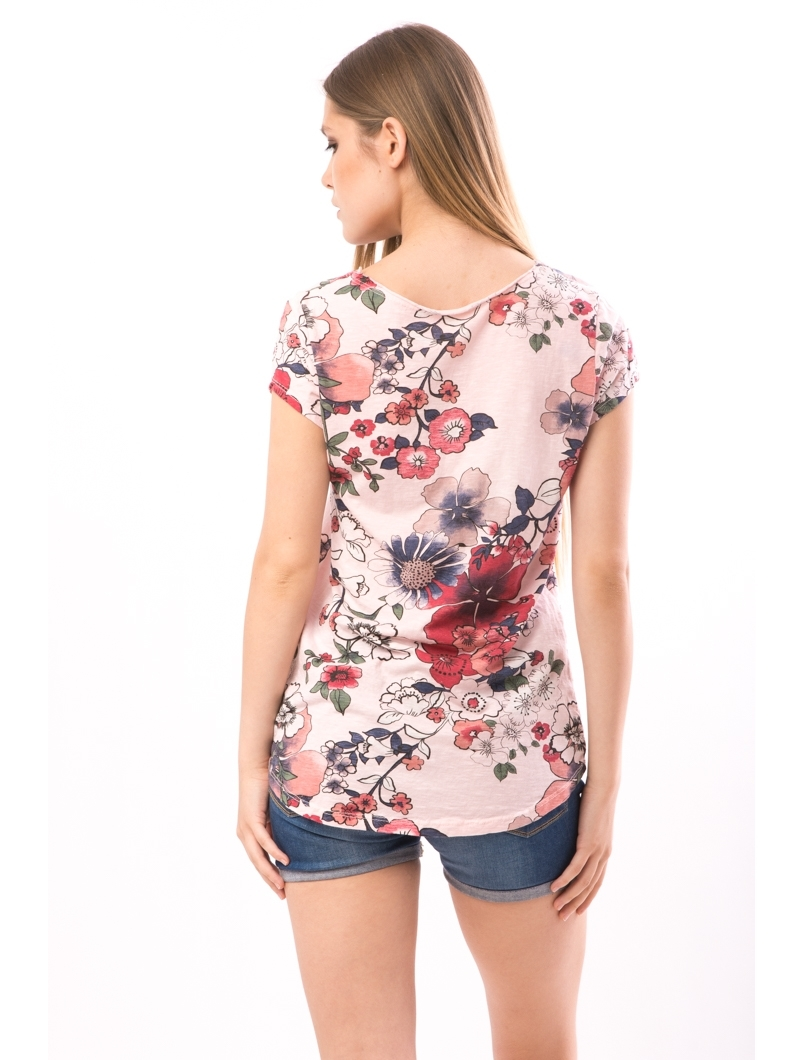 Tricou Dama FriendlyFlowers Roz-2
